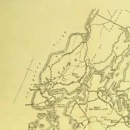 Maine Genealogy Archives Map Of Castine Penobscot And Brooksville