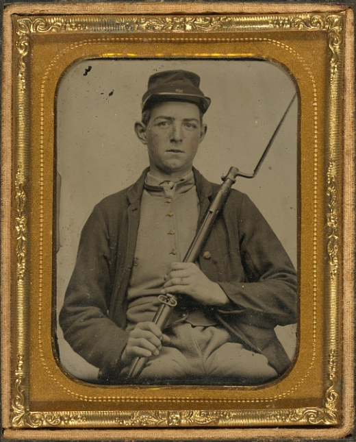 Corporal John A. Hartshorn of Company A, 19th Maine Infantry