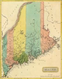 Map of Maine, c. 1799-1805